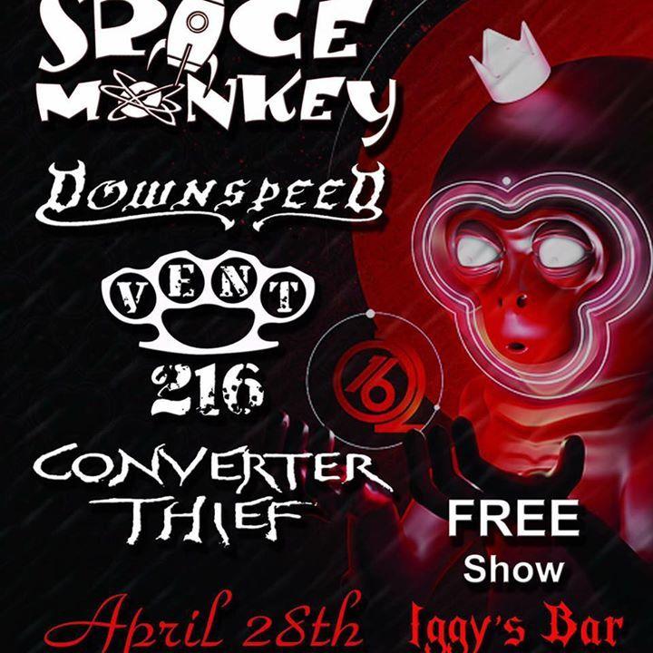 Space Monkey Tour Dates