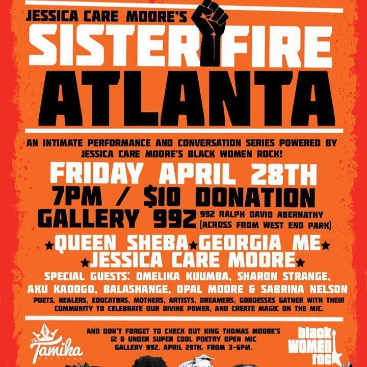 Jessica Care Moore Tour Dates