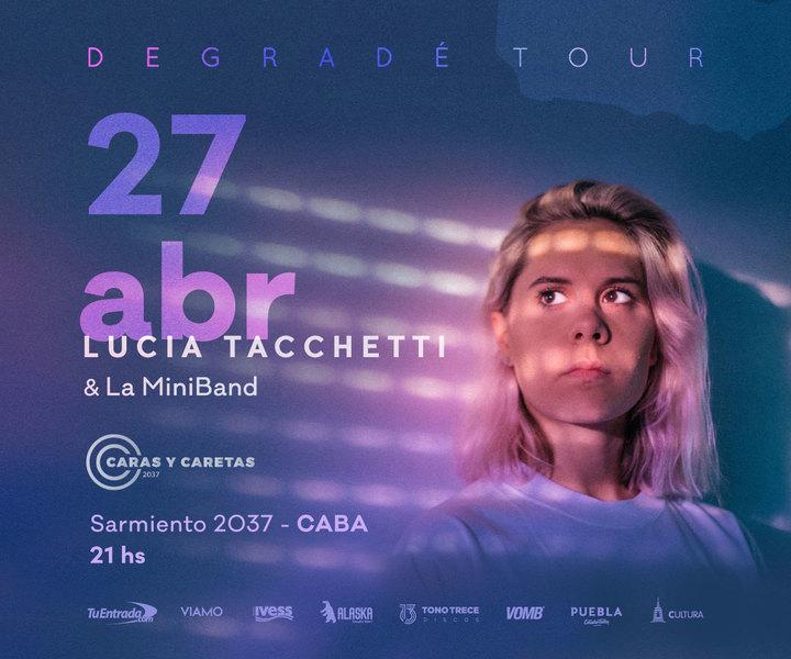 Lucia Tacchetti @ Sala Caras y Caretas - Buenos Aires City, Argentina