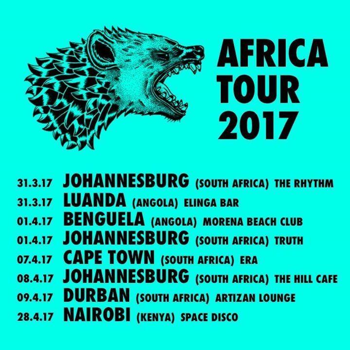 Hyenah Tour Dates