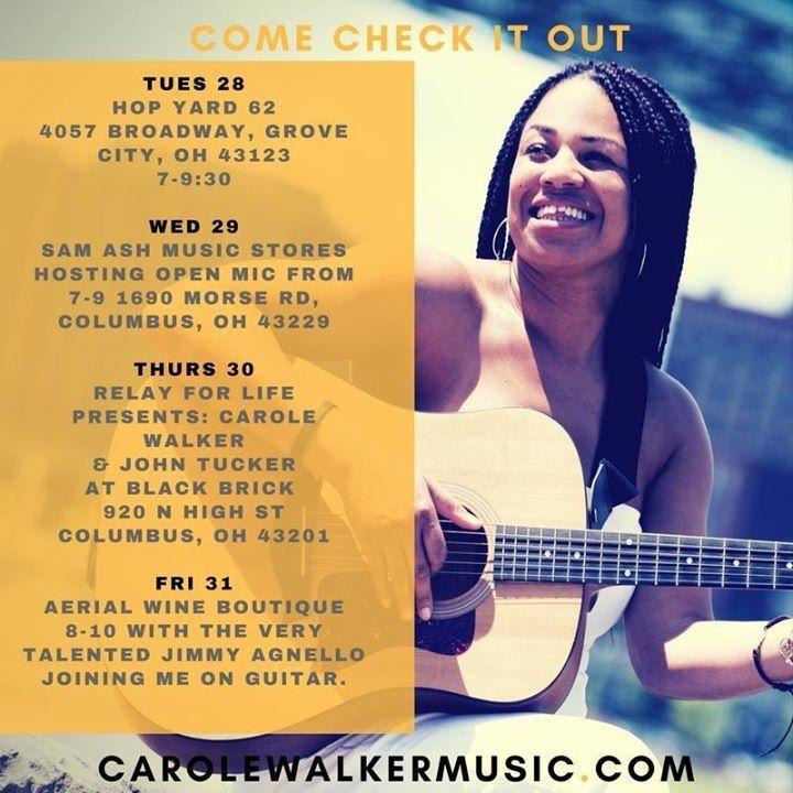 Carole Walker Music @   Rambling House Soda - Columbus, OH