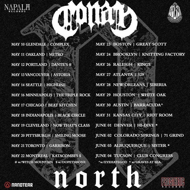 North Tour Dates
