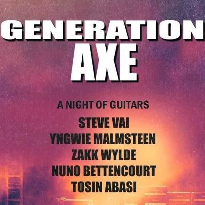 Generation Axe Tour Tour Dates