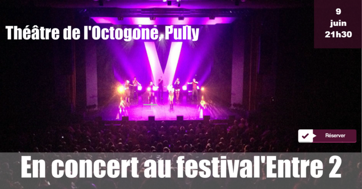 Voxset @ Théâtre de l'Octogone - Pully, Switzerland