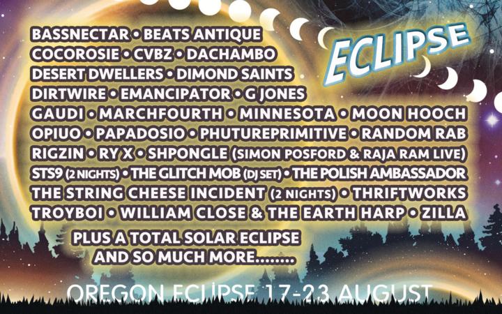 Gaudi @ Oregon Eclipse - Portland, OR