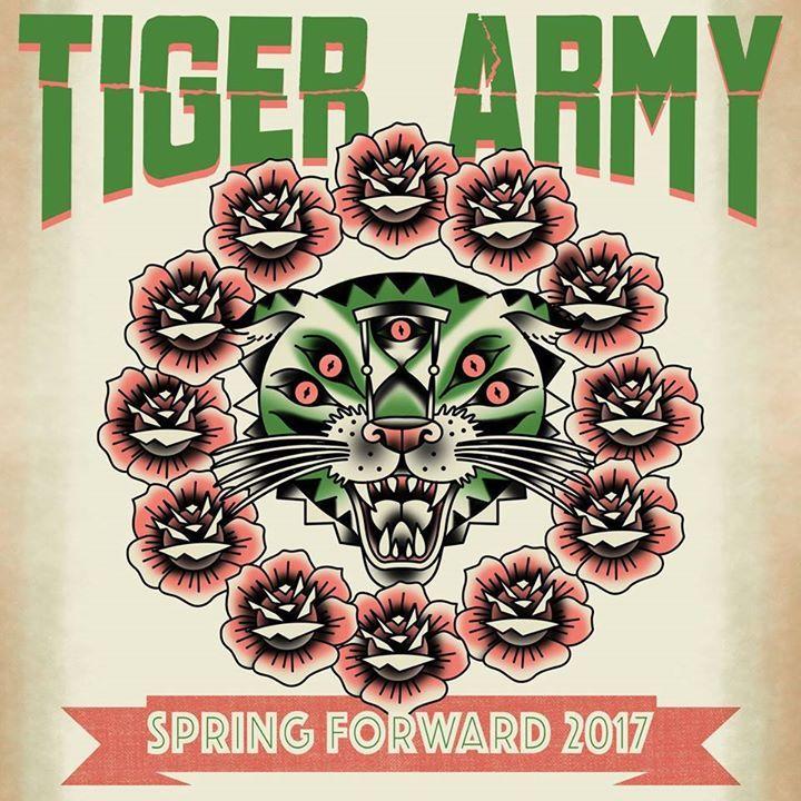 Tiger Army @ The Metro Theatre  - Sydney, Australia