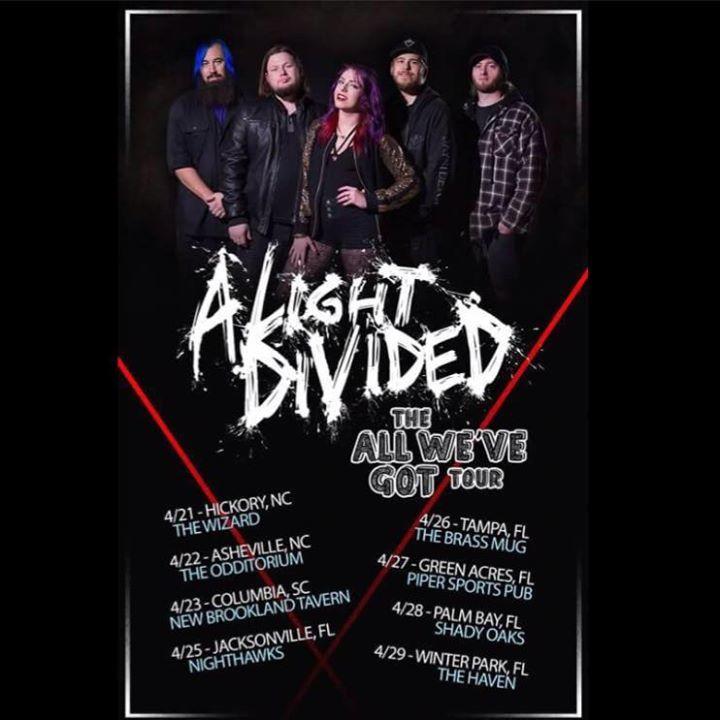 A Light Divided Tour Dates