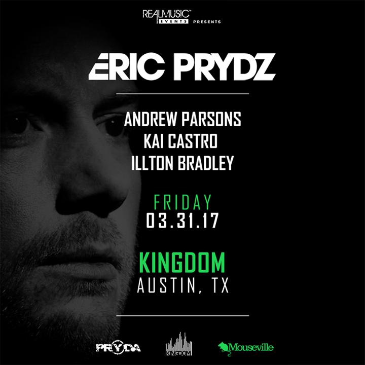 DJ Andrew Parsons Tour Dates