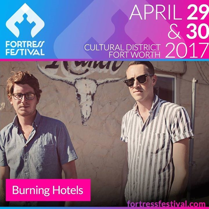 The Burning Hotels Tour Dates