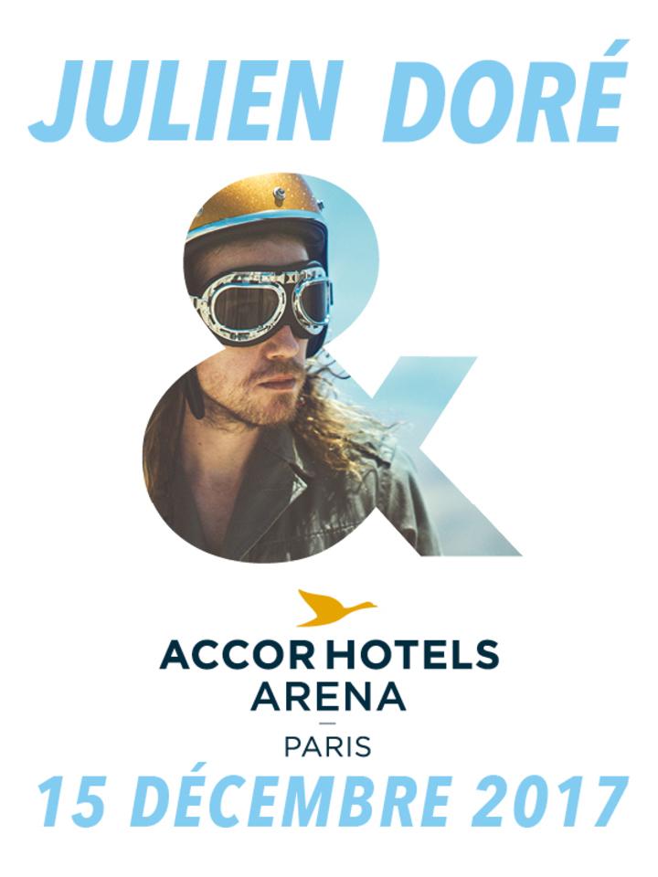 Julien Doré @ AccorHotels Arena - Paris, France