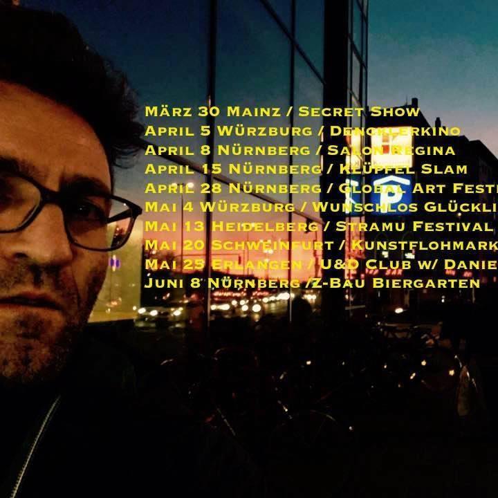 Uli Tsitsos Tour Dates