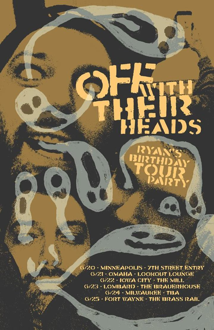 Off With Their Heads @ The Brass Rail - Fort Wayne, IN