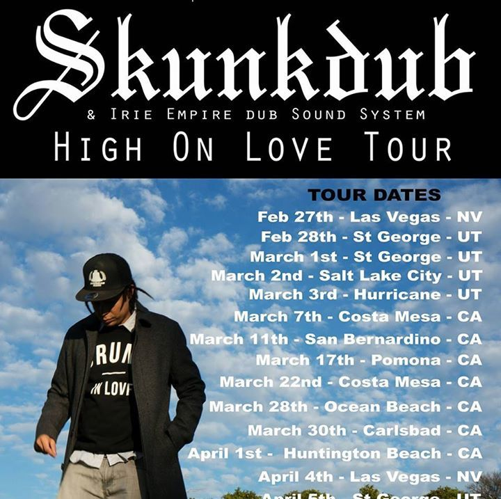Skunkdub Tour Dates