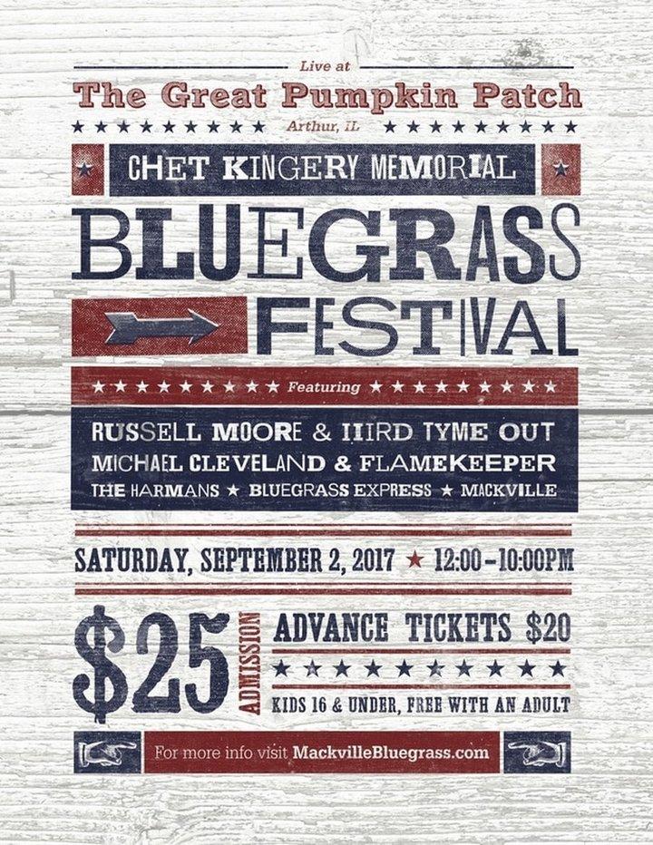 Michael Cleveland @ Chet Kingery Memorial Bluegrass Festival - Arthur, IL
