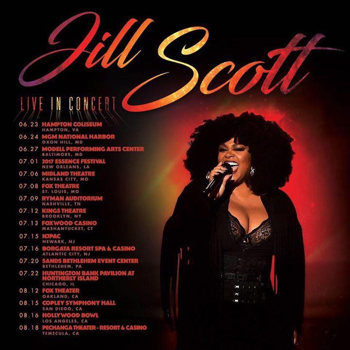 Jill scott tour dates in Australia