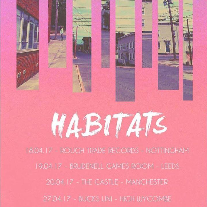 Habitats Tour Dates