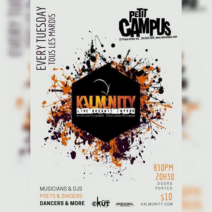Kalmunity Tour Dates