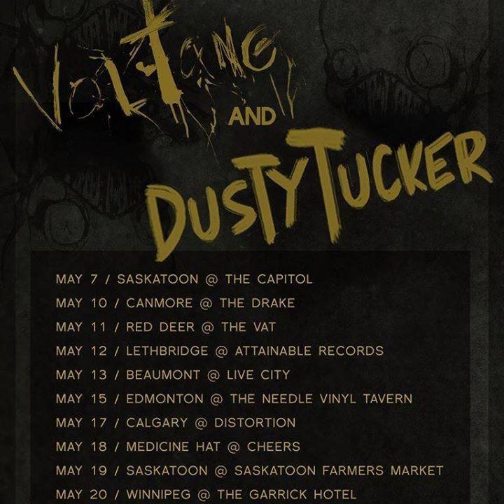 DUSTY TUCKER Tour Dates