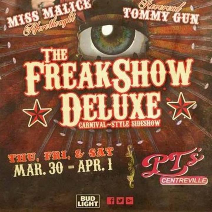 FreakShow Deluxe Tour Dates