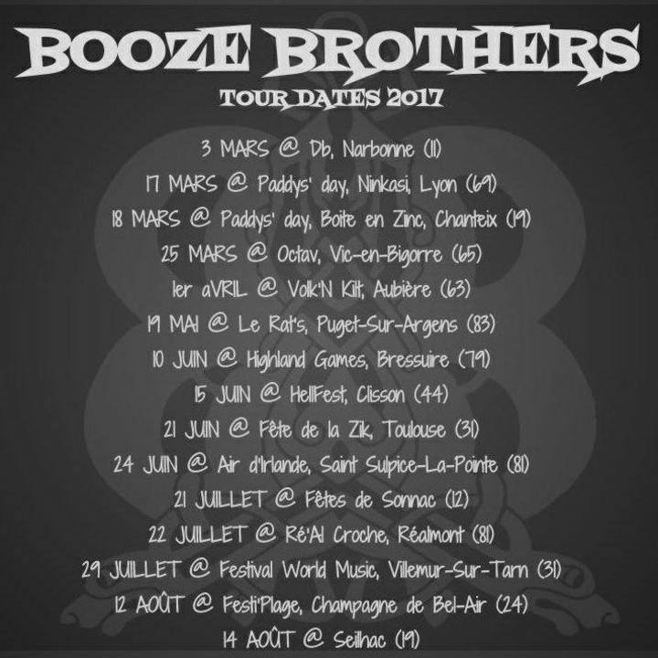 The Booze Tour Dates