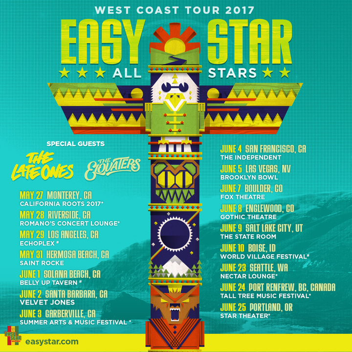 Easy Star All-Stars @ Monterey County Fairgrounds - Monterey, CA