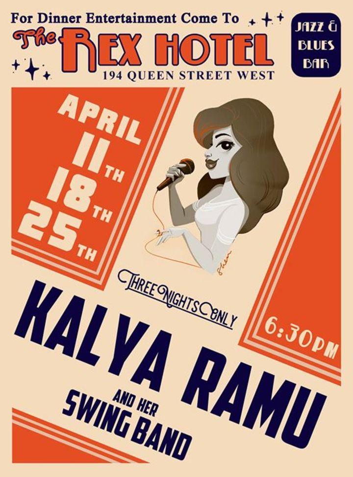 Kalya Ramu Tour Dates