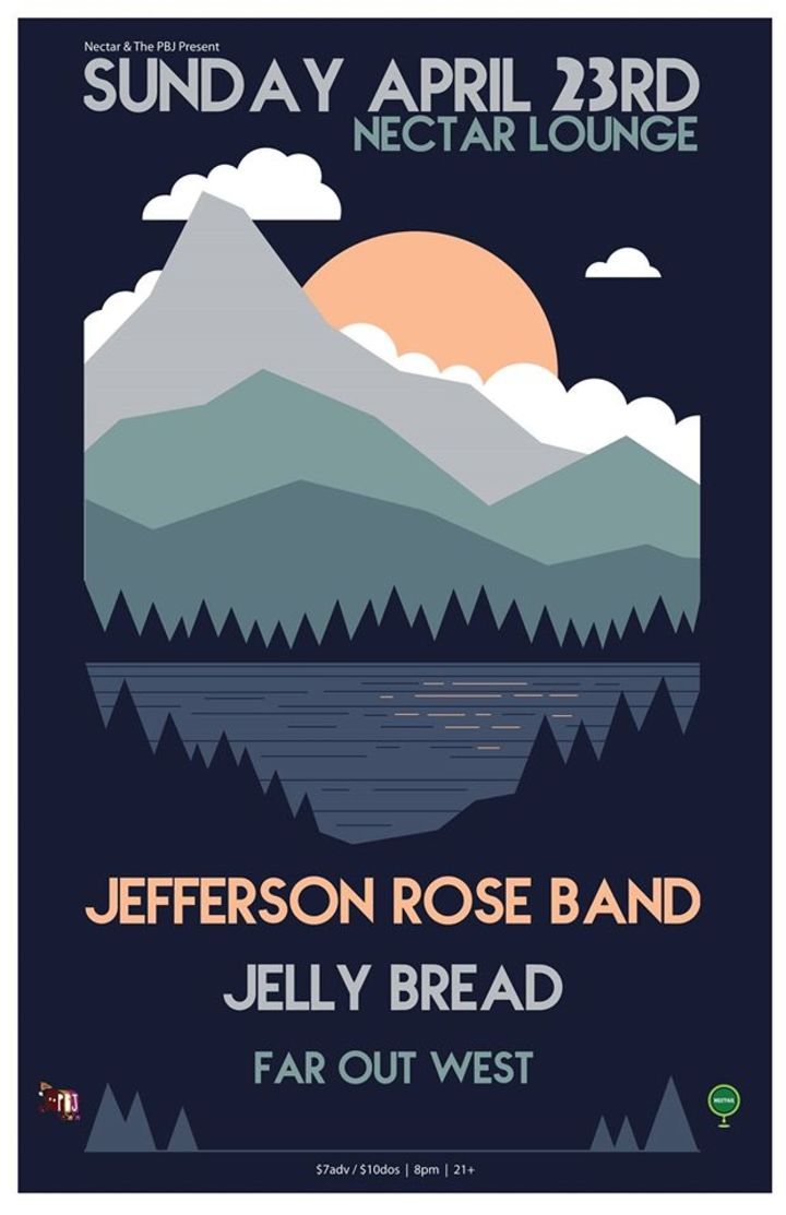 The Jefferson Rose Band Tour Dates