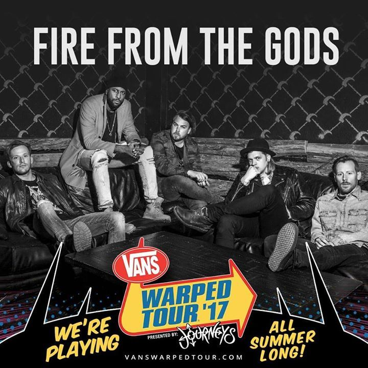 Fire From the Gods Tour Dates