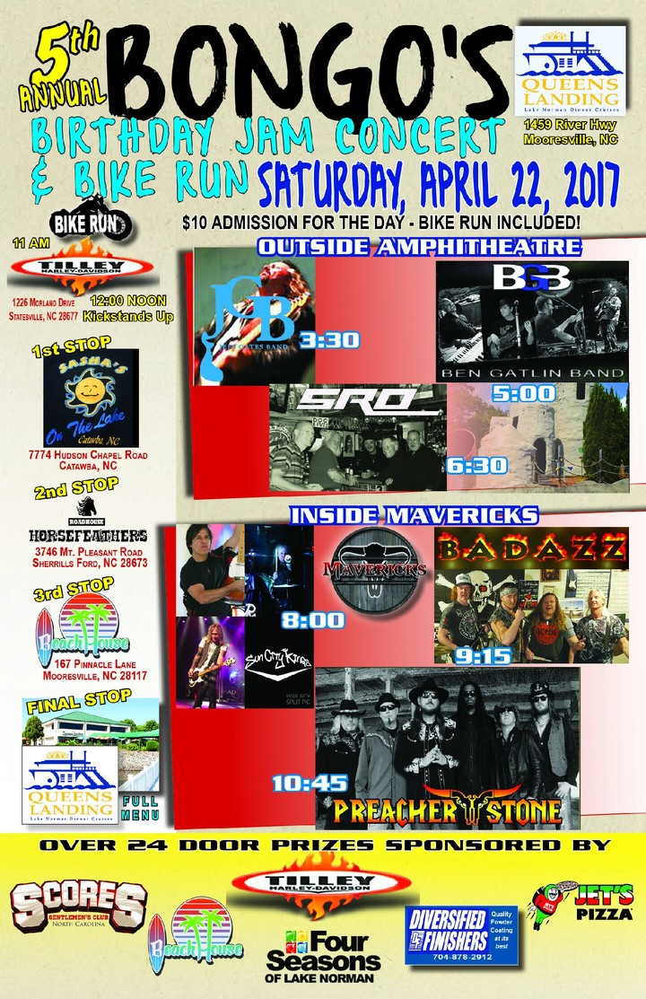 Ben Gatlin & Bongo Bach Acoustic Duo Tour Dates
