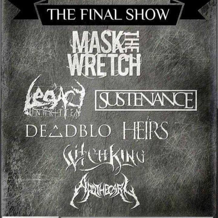 Mask The Wretch Tour Dates