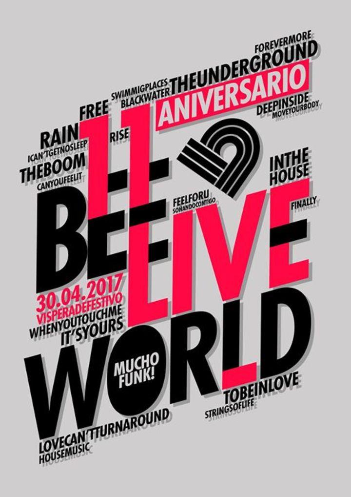 Bee Live World Tour Dates