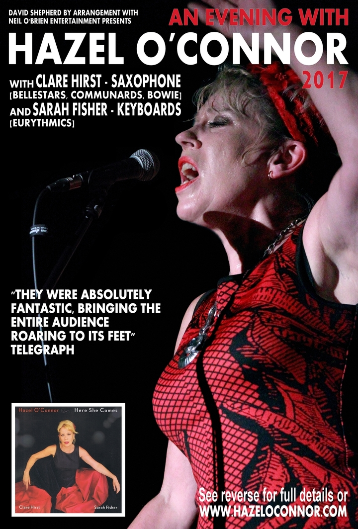 Hazel O'Connor @ All Saints Church - Huntingdon, United Kingdom