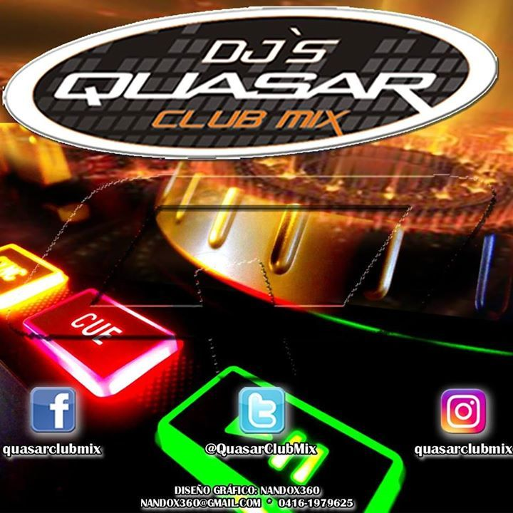 Quasar Club Mix Tour Dates