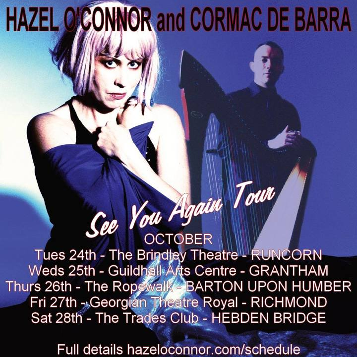 Hazel O'Connor @ The Ropewalk - Barton Upon Humber, United Kingdom