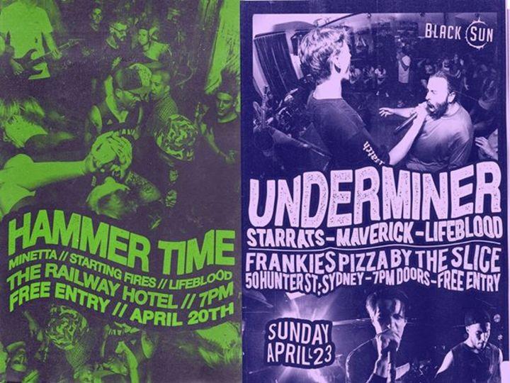Lifeblood Tour Dates