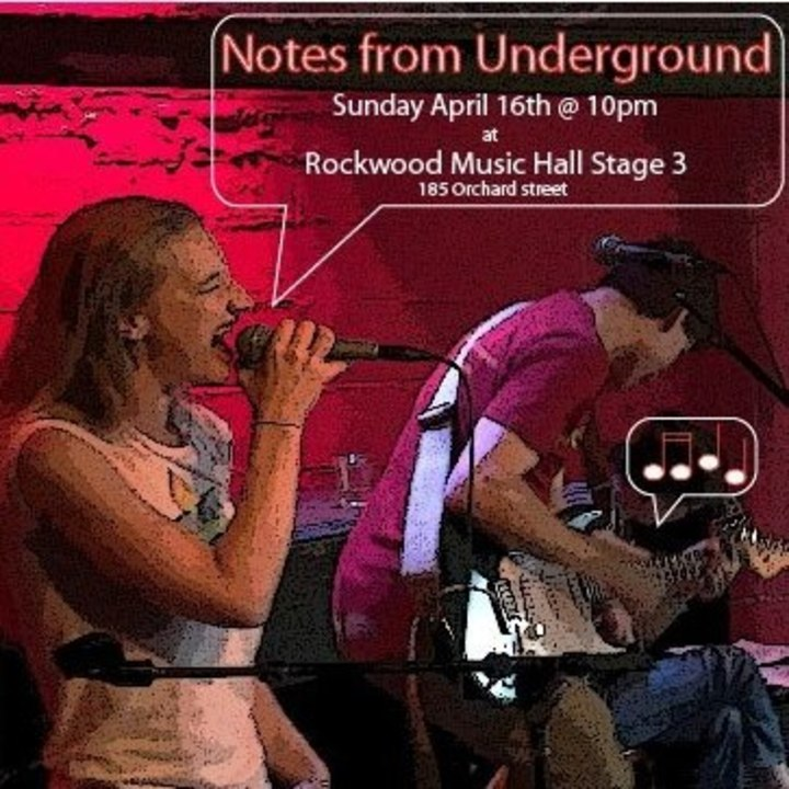 Notes from Underground NY Tour Dates