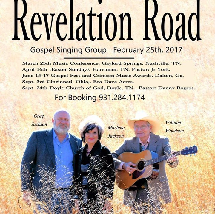 Revelation Road @ Old Fashion Church - Crossville, TN