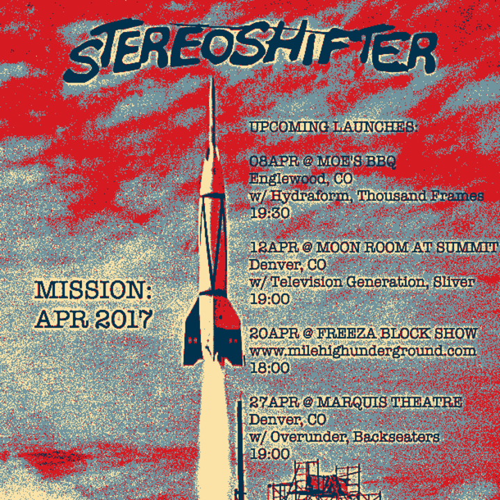 Stereoshifter Tour Dates