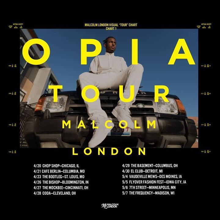 Malcolm London Tour Dates