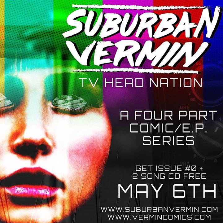 Suburban Vermin Tour Dates
