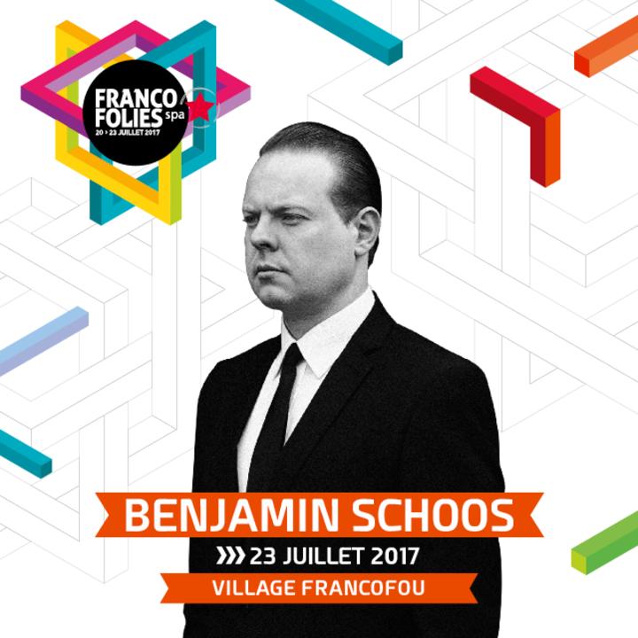 Benjamin Schoos @ Francofolies  - Spa, Belgium