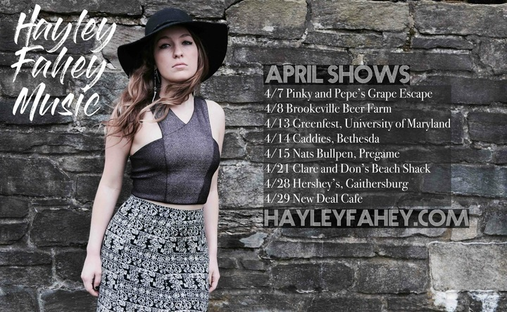 Hayley Fahey Music Tour Dates