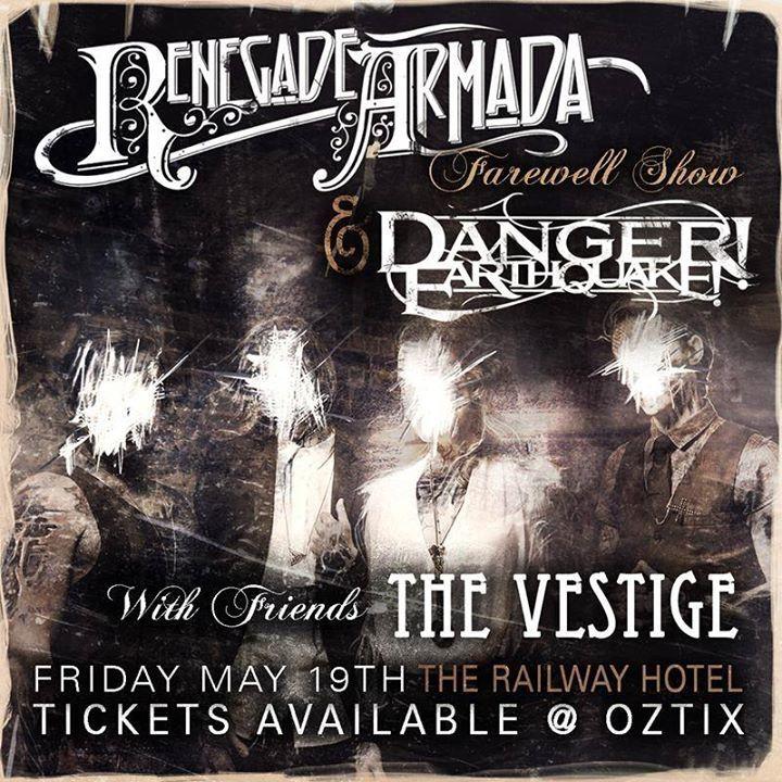 Danger Earthquake Tour Dates