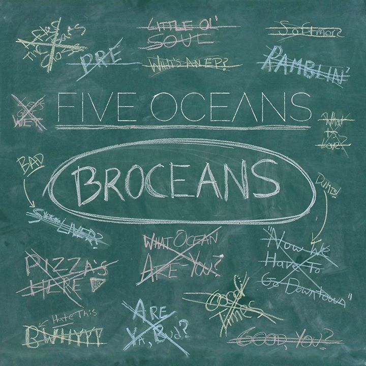 Five Oceans Tour Dates