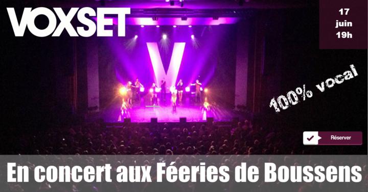 Voxset @ Féeries - Boussens, Switzerland