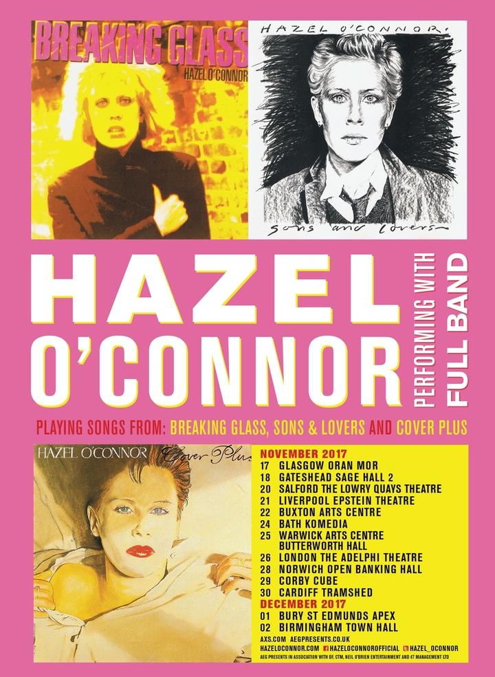 Hazel O'Connor @ The Apex - Bury St. Edmunds, Uk