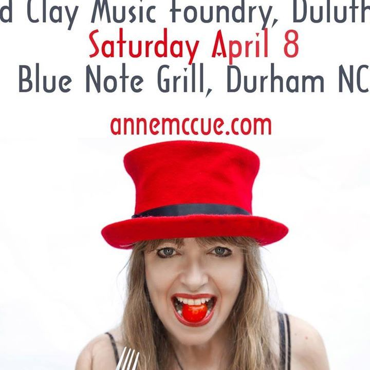 Anne McCue Tour Dates