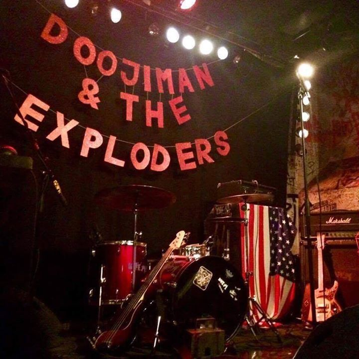 Doojiman & The Exploders Tour Dates