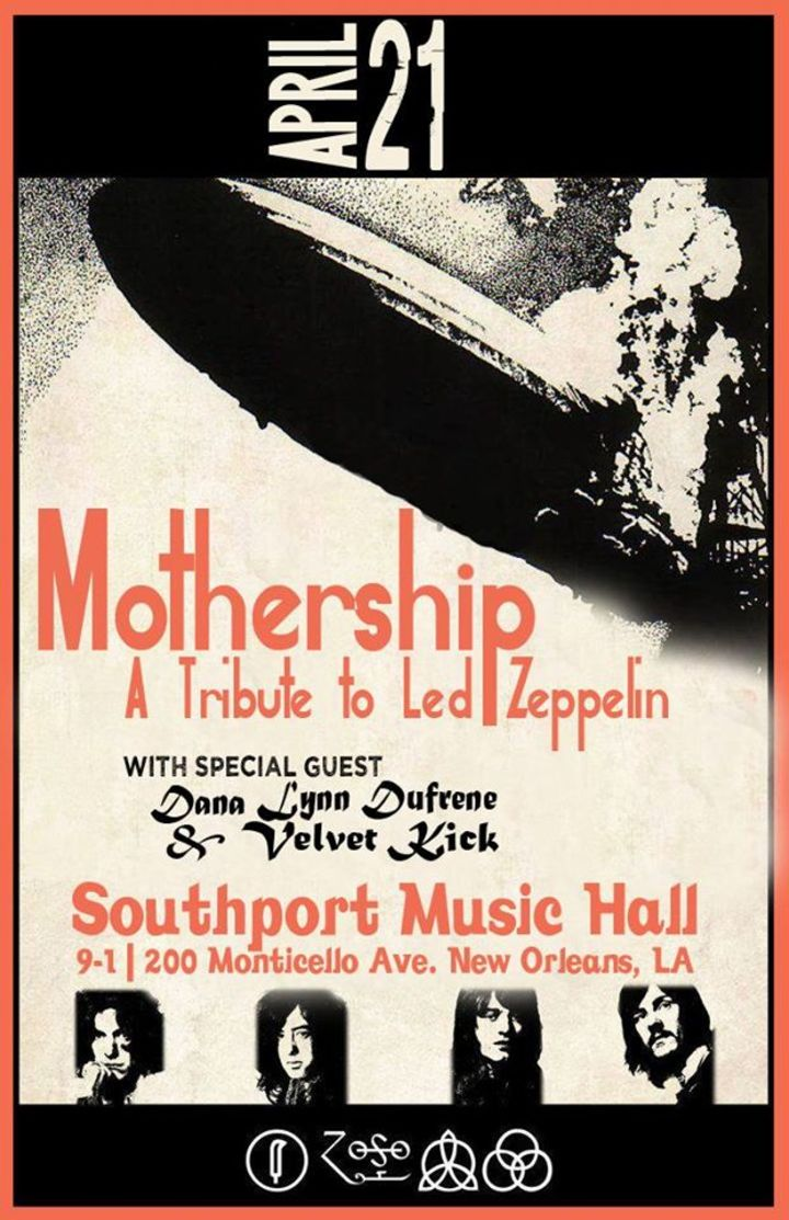 Mothership: A Tribute to Led Zeppelin Tour Dates