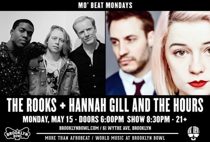 Hannah Gill & The Hours @ Brooklyn Bowl - Brooklyn, NY